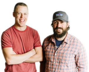 Matt Baysinger and Ryan Henrich Swell Spark co-owners transparent background
