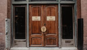 Blade and Timber West Bottoms Entrance Wood Doors
